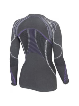 Термобілизна блуза жіноча Accapi Ergoracing anthracite /purple