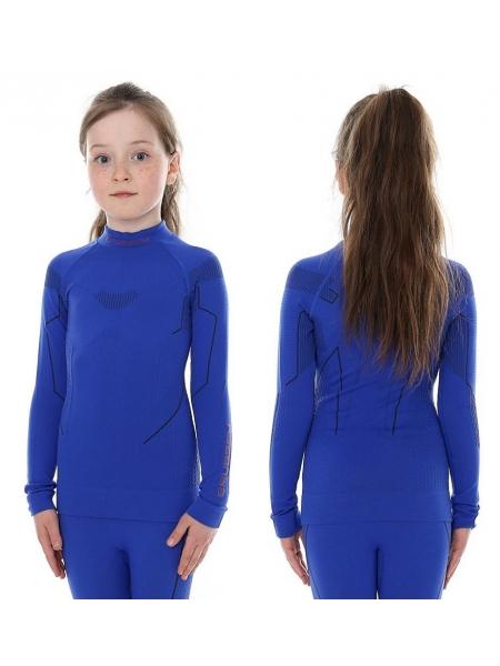 Термобілизна блуза підліткова Brubeck THERMO JUNIOR kobaltowy