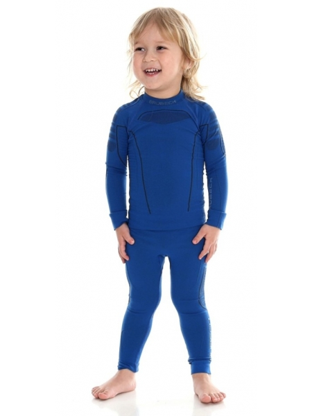 Термобілизна блуза дитяча Brubeck THERMO KIDS niebiesky