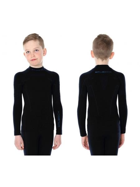 Термобілизна блуза підліткова Brubeck THERMO JUNIOR black