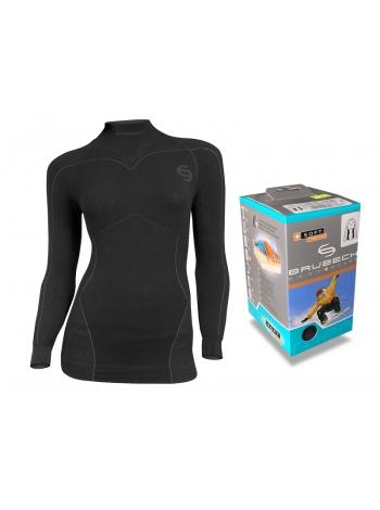 Термобілизна блуза жіноча Brubeck MERINO SOFT