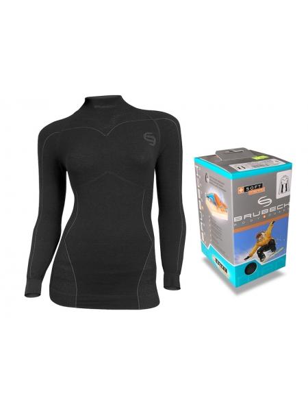 Термобелье блуза женская Brubeck MERINO SOFT