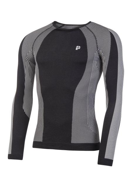 Термобілизна блуза Protest KEN black-gray