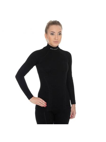 Термобілизна блуза жіноча Brubeck WOOL black